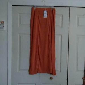 NWT Zara Maxi Skirt